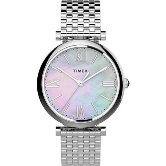 Timex Parisienne Ladies' Stainless Steel Bracelet Watch - Product number 4514327