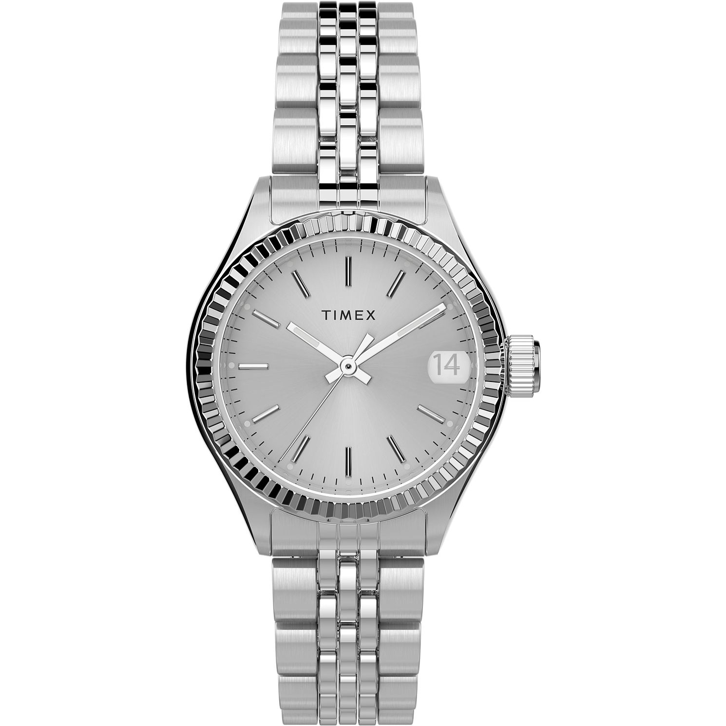 Timex Waterbury Traditional Ladies' Steel Bracelet Watch - Product number 4514378