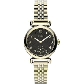 Timex Ladies' Gold Tone Bracelet Watch - Product number 4514599
