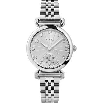 Timex Ladies' Silver Tone Bracelet Watch - Product number 4514688