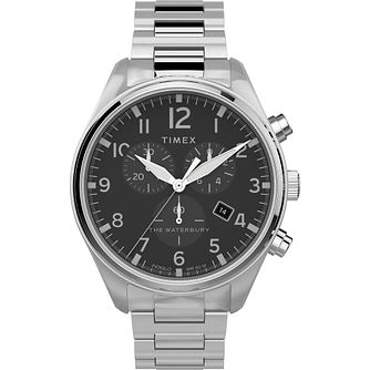 Timex Waterbury Classic Men's Stainless Steel Bracelet Watch - Product number 4514793