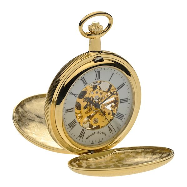 Men's Double Opening Hunter Pocket Watch - Product number 4515072