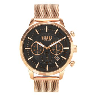 Versus Versace Eugène Rose Tone Mesh Bracelet Watch - Product number 4515714