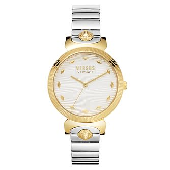 Versus Versace Marion Silver Tone Bracelet Watch - Product number 4515838
