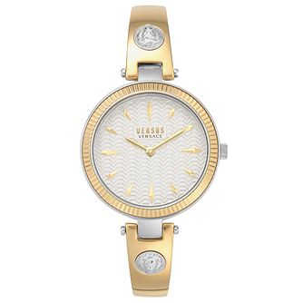 Versus Versace Brigitte Two Tone Bracelet Watch - Product number 4515862
