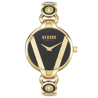Versus Versace Saint German Yellow Gold Tone Bracelet Watch - Product number 4515927