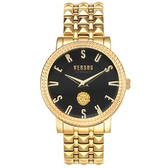 Versus Versace Pigalle Yellow Gold Tone Bracelet Watch - Product number 4515994