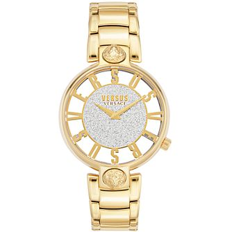 Versus Versace Kirstenhof Yellow Gold Tone Bracelet Watch - Product number 4516087