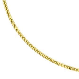 9ct Yellow Gold Medium Spiga Necklet - Product number 4518136