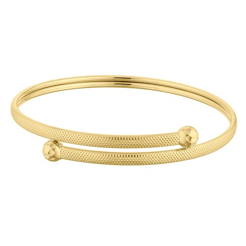 9ct Yellow Gold Torque Flexible Bangle - Product number 4518373