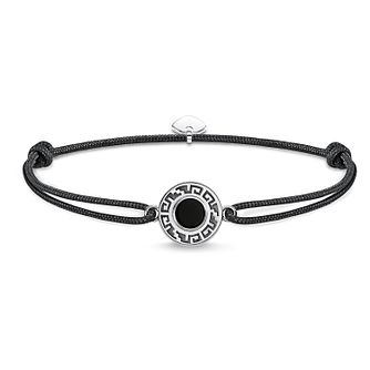 Thomas Sabo Secret Men's Greek Pattern Black Bracelet - Product number 4521226