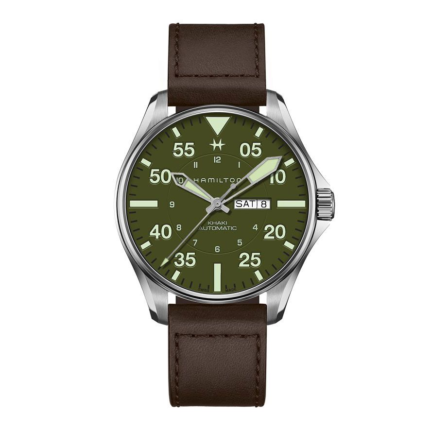 Hamilton Khaki Pilot Schott NYC Men's Limited Edition Watch - Product number 4522214