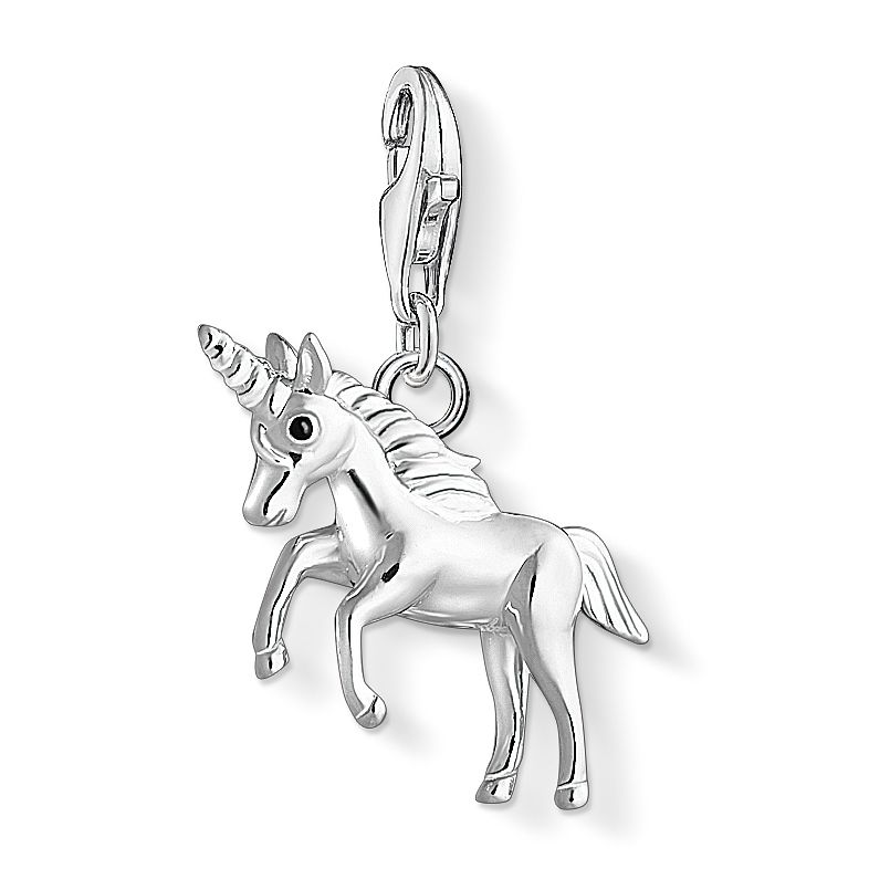 Thomas Sabo Charm Club Sterling Silver 3D Unicorn Charm - Product number 4524446
