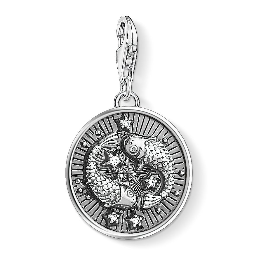Thomas Sabo Charm Club Sterling Silver Pisces Charm - Product number 4529286