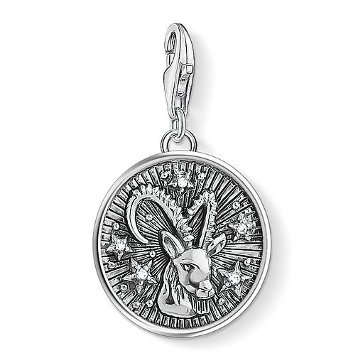 Thomas Sabo Charm Club Sterling Silver Capricorn Charm - Product number 4529731