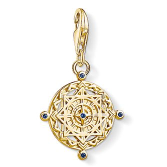 Thomas Sabo Ladies' Yellow Gold Plated Amulet Charm - Product number 4530071