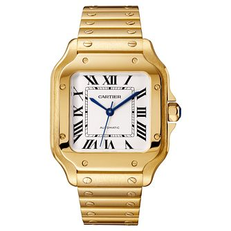 Cartier Santos Ladies' 18ct Gold Bracelet and Strap Watch - Product number 4530187