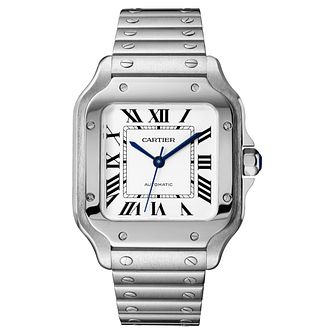 Cartier Santos Ladies' Square Bracelet and Strap Watch - Product number 4530233