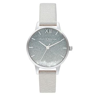 Olivia Burton Wishing Waves White Leather Strap Watch - Product number 4532325