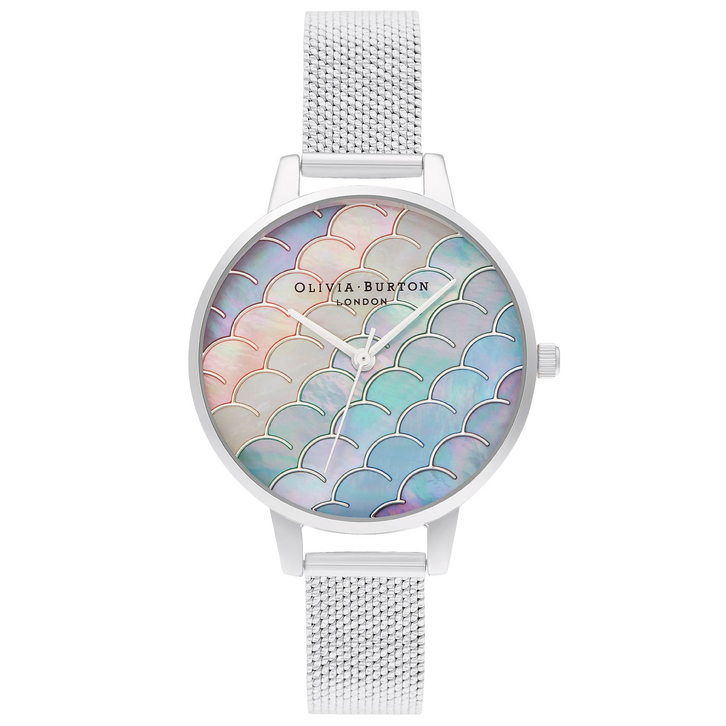 Olivia Burton Mermaid Tale Stainless Steel Bracelet Watch - Product number 4532449