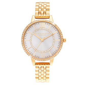Olivia Burton Wonderland Yellow Gold Tone Bracelet Watch - Product number 4532716