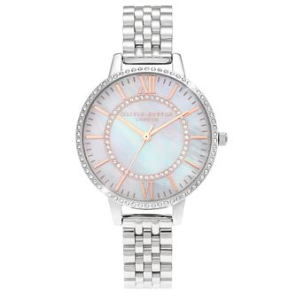 Olivia Burton Wonderland Stainless Steel Bracelet Watch - Product number 4532724