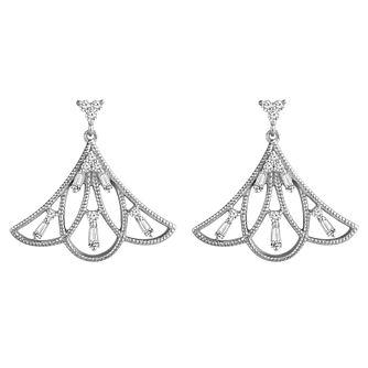 Emmy London Silver 0.25ct Diamond Earrings - Product number 4532902