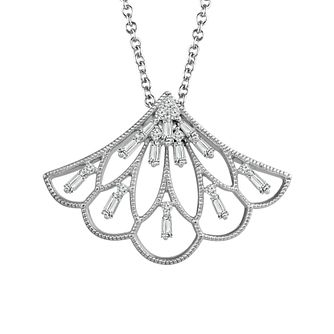 Emmy London Silver 1/4 Carat Diamond Pendant - Product number 4532910