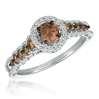 Le Vian 14ct Vanilla Gold Chocolate Diamond Ring - Product number 4533275
