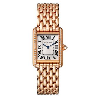 Cartier Tank Louis Cartier Ladies' Rose Gold Bracelet Watch - Product number 4533577