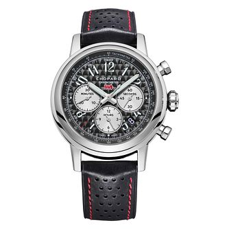 Chopard Mille Miglia Men's Black Leather Strap Watch - Product number 4533720