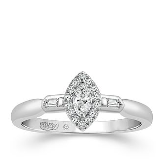 Emmy London Platinum 0.25ct Total Diamond Solitaire - Product number 4537750