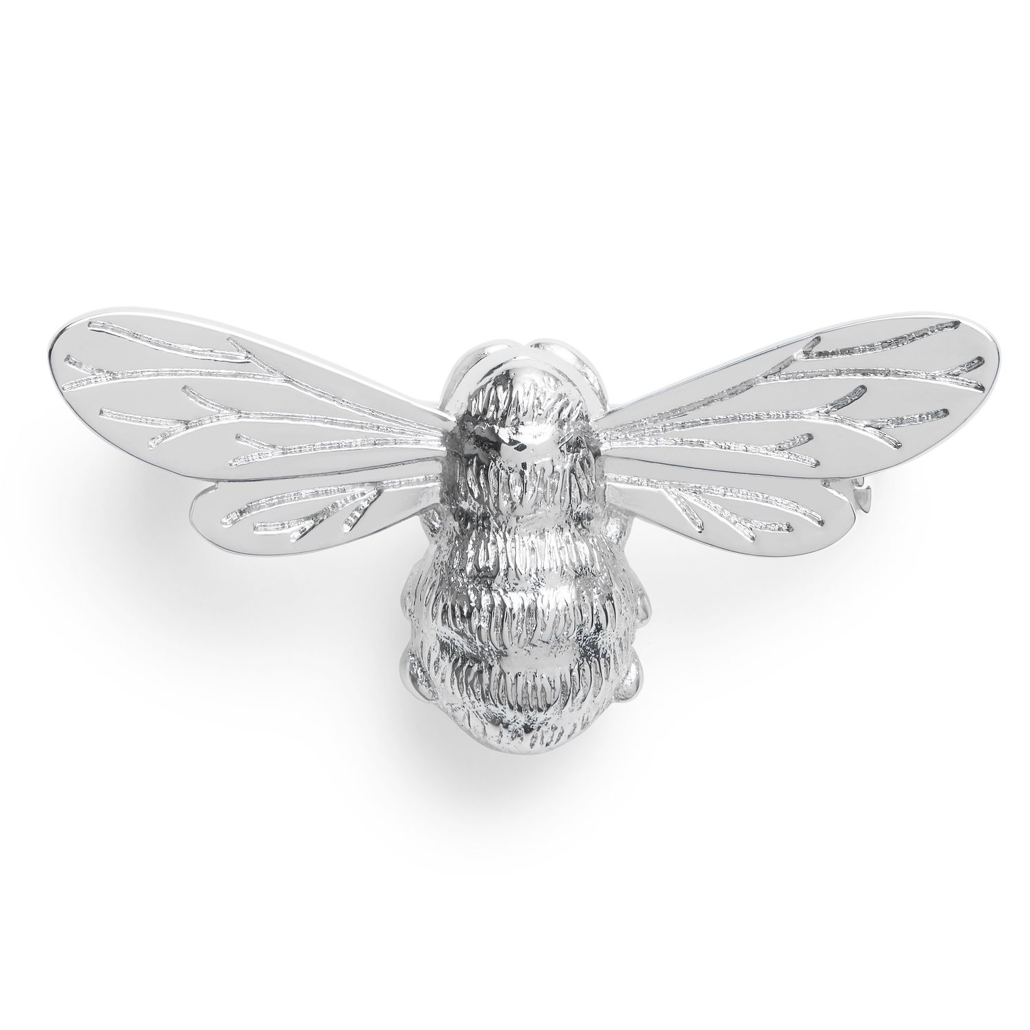 Olivia Burton Rhodium Plated Lucky Bee Brooch - Product number 4537882