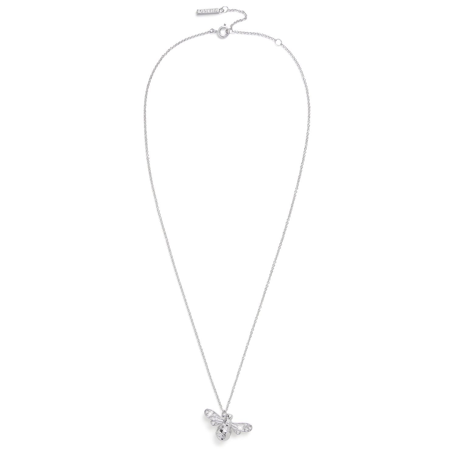 Olivia Burton Rhodium Plated Sparkle Bee Pendant - Product number 4538021