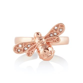 Olivia Burton Rose Gold Tone Sparkle Bee Ring - Product number 4538579