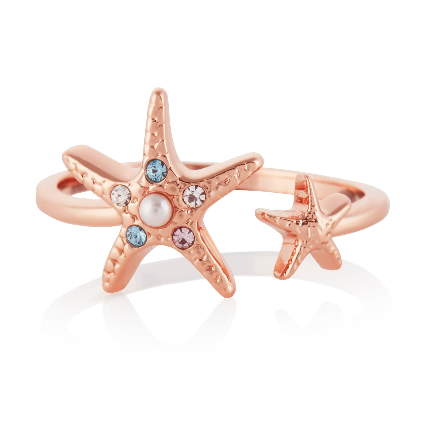 Olivia Burton Rose Gold Tone Starfish Ring - Product number 4538773