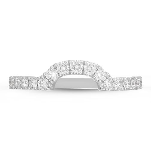 Neil Lane 14ct White Gold 0.45ct Diamond Shaped Band - Product number 4566165