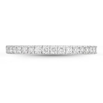 Neil Lane 14ct White Gold 0.37ct Diamond Shaped Band - Product number 4567749
