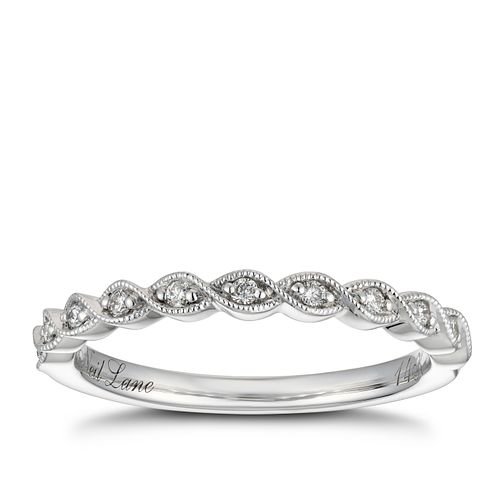 Neil Lane 14ct White Gold Diamond Shaped Band - Product number 4568958