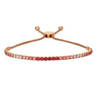 Le Vian 14ct Strawberry Gold Ruby Adjustable Bracelet - Product number 4572955
