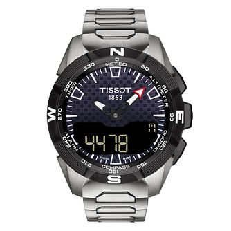 Tissot T-Touch Expert SolarII Stainless Steel Bracelet Watch - Product number 4574184