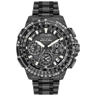 Citizen Eco-Drive Satellite Wave Titanium Bracelet Watch - Product number 4574370