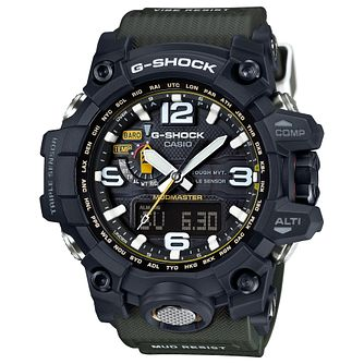 Casio G-Shock Men's Mudmaster Khaki Resin Strap Watch - Product number 4575350
