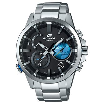 Edifice Bluetooth, Globe Dial & World Time - Product number 4575393