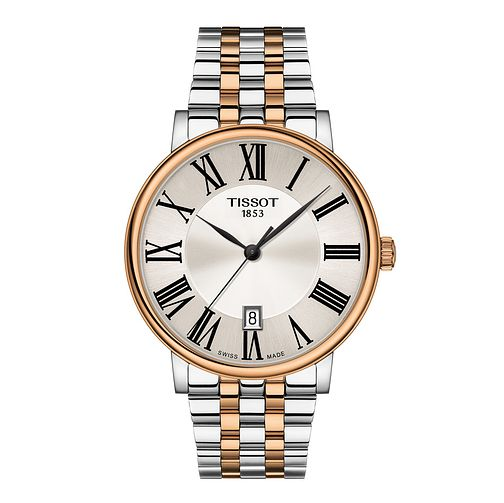 Tissot Carson Premium Men's Two Tone Bracelet Watch - Product number 4576217