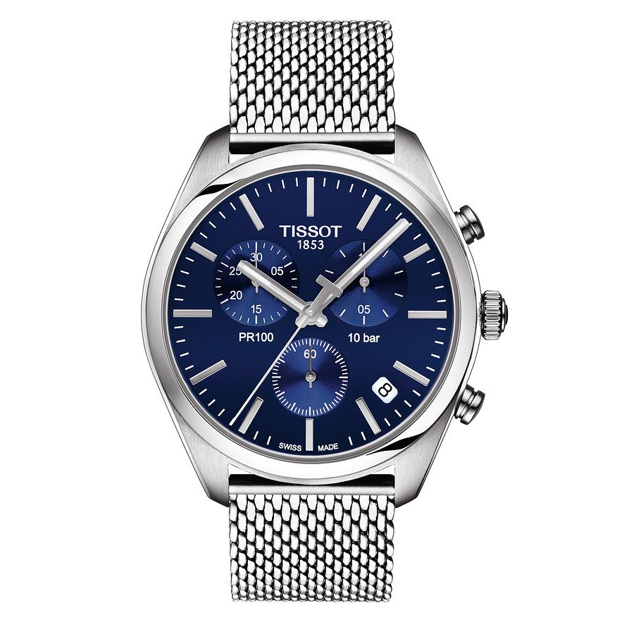 Tissot Pr 100 Men's Stainless Steel Bracelet Watch - Product number 4576233