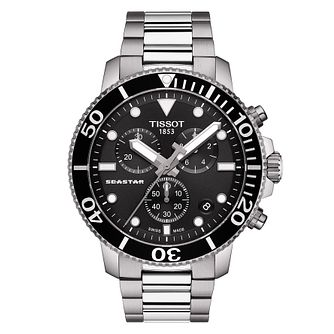Tissot Seastar 1000 Men's Stainless Steel Bracelet Watch - Product number 4577116