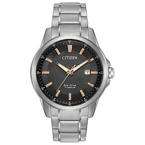 Citizen Eco Drive Men's Stainless Steel Bracelet Watch - Product number 4578066