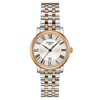 Tissot Carson Premium Ladies' Two Tone Bracelet Watch - Product number 4579208