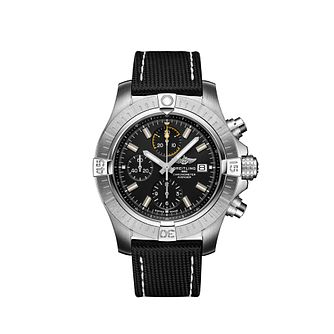 Breitling Avenger 45 Men's Chronograph Black Strap Watch - Product number 4579216